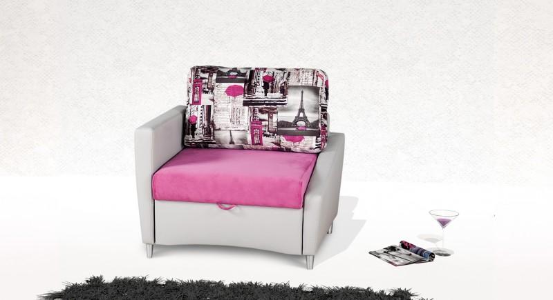 Extendable armchair MARTINO