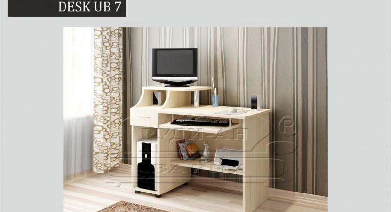 писменный стол ЮБ 7