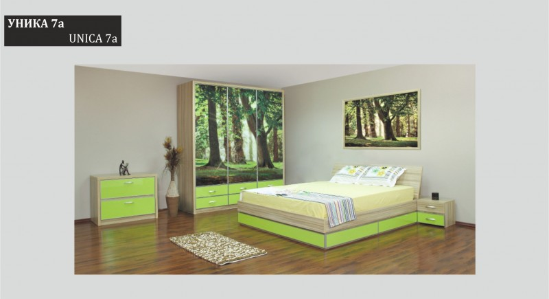Bedroom set UNICA-7a