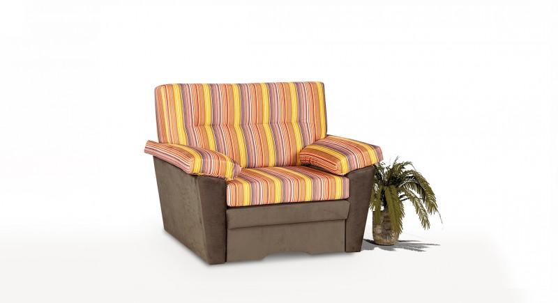 Extendable armchair ORANGE
