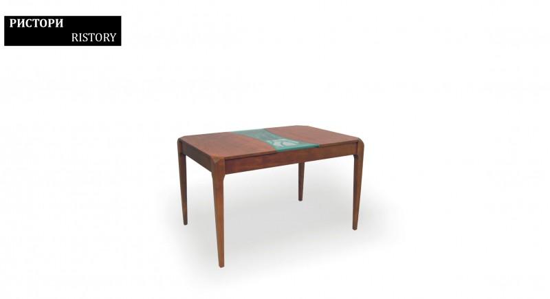 обеденный стол РИСТОРИ - стекло