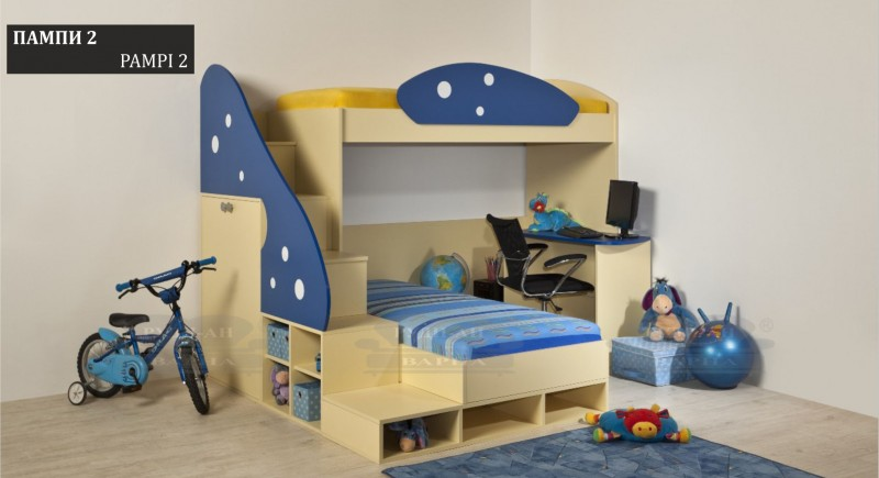 Children's bedroom set PAMPI-2