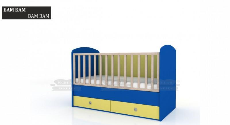бебешко легло БАМ БАМ