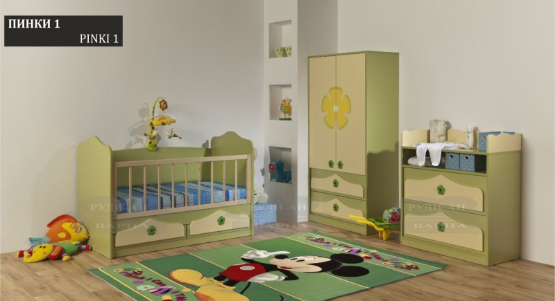 Children's bedroom set PINKI-1