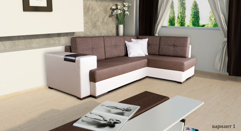 Corner sofa ESCADA