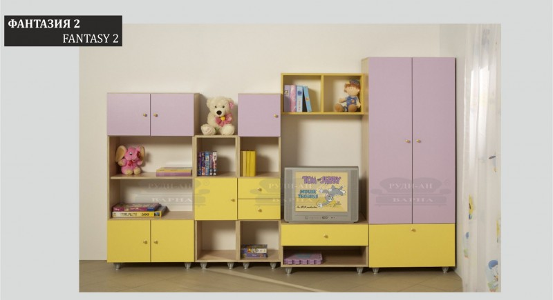 Modular children's bedroom system FANTASY-2