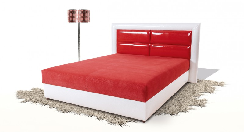 CLEPATRA upholstered bed & headboard