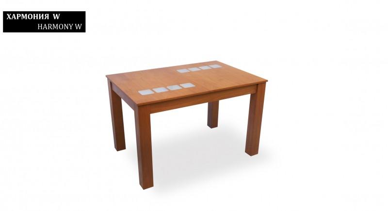 обеденный стол ГАРМОНИЯ-W