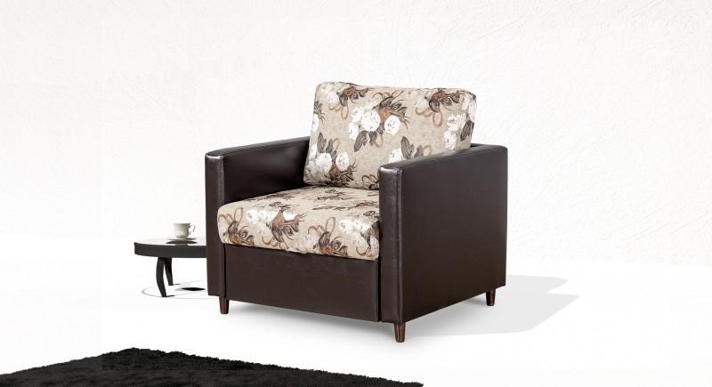 Extendable armchair KUBIK
