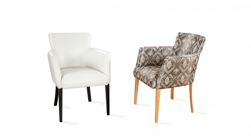 LOBI upholstered armchair
