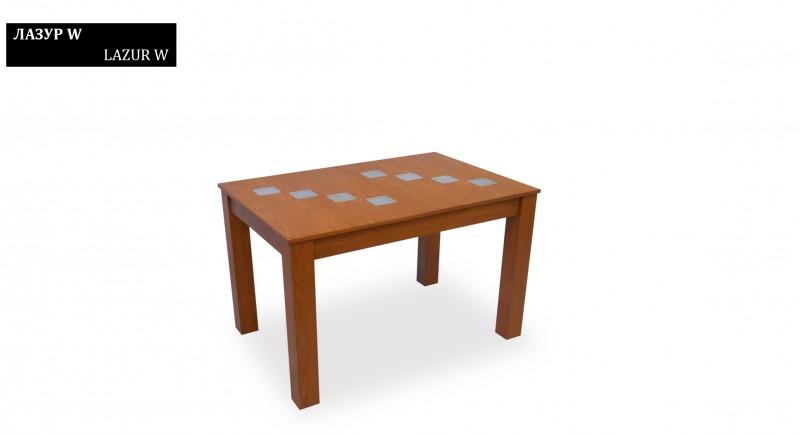 обеденный стол ЛАЗУРЬ-W