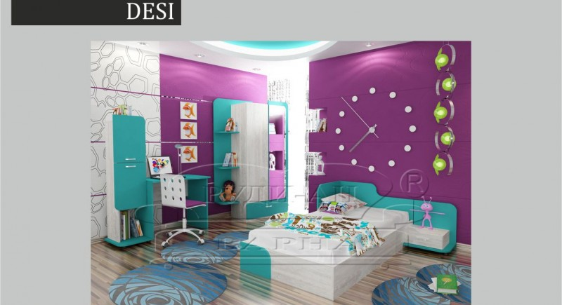 Children's bedroom set DESI