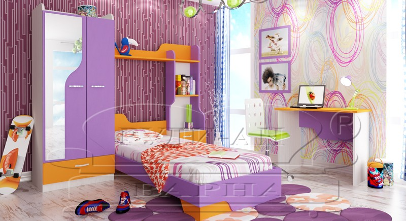 Children's bedroom set BENI-1