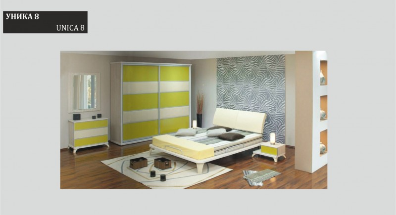 Bedroom set UNICA 8