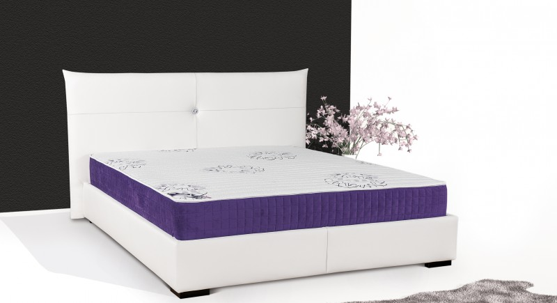 BELLISSIMA upholstered bed & headboard