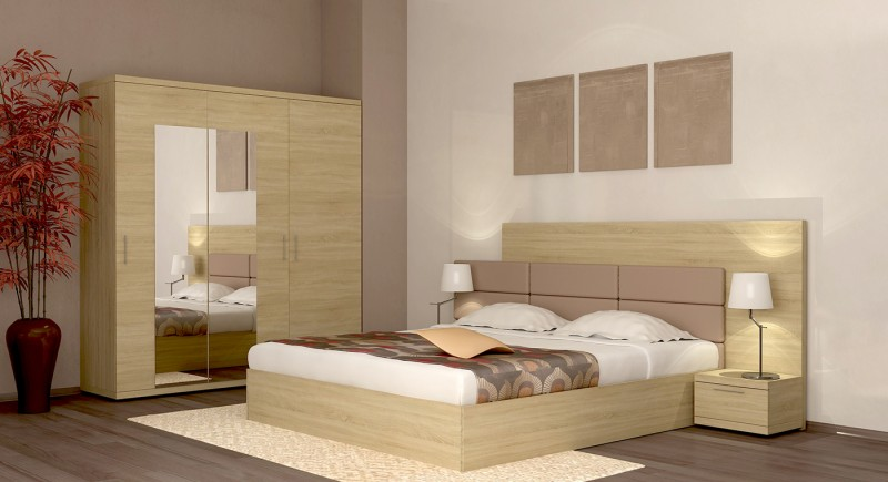 Bedroom set FORTUNA