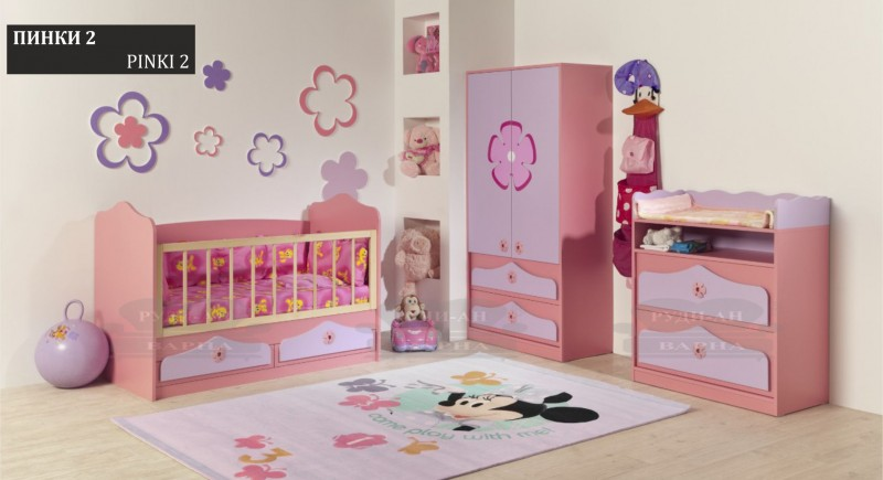 Children's bedroom set PINKI-2