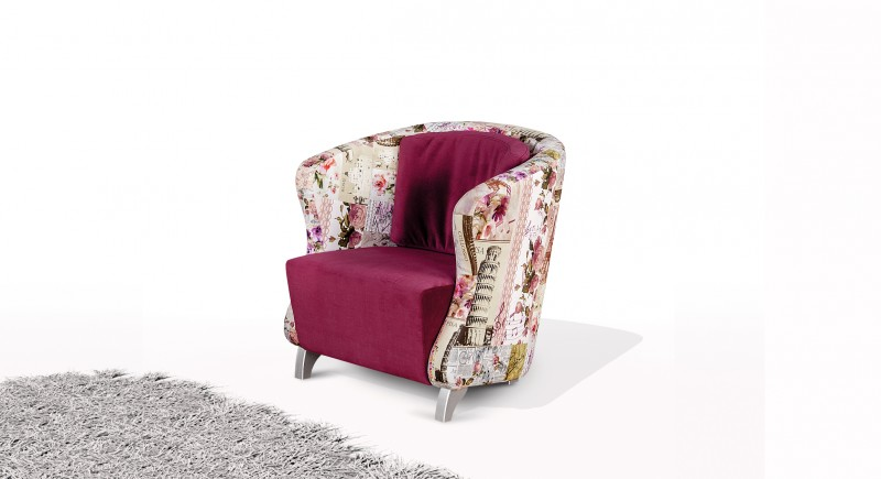 ATHENA upholstered chair