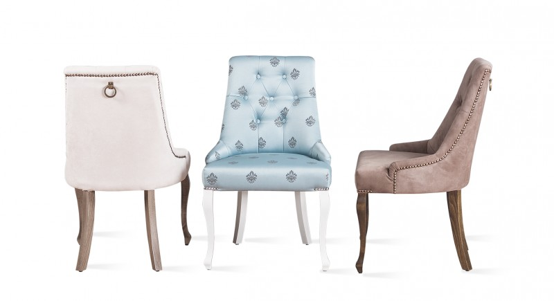Upholstered chair LUX