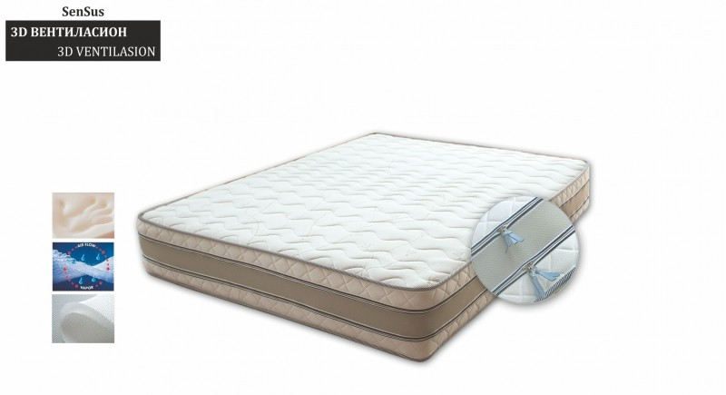 mattress SenSus 3D VENTILATION