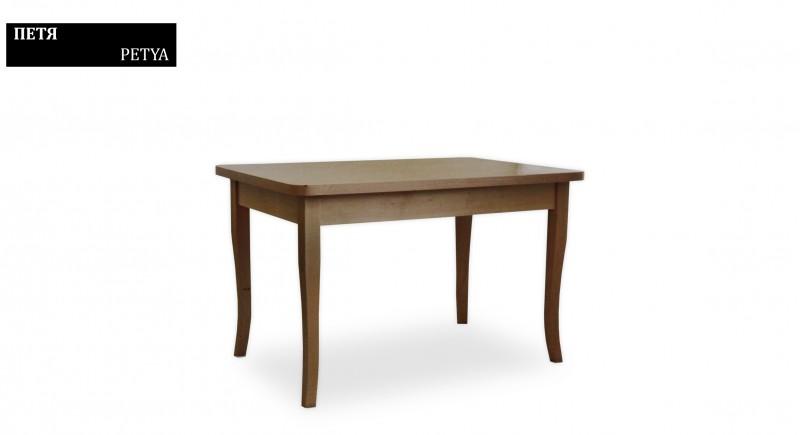обеденный стол ПЕТЯ - прямоугольный