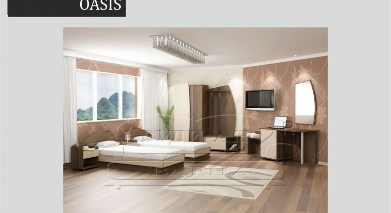 Hotel room set OASIS