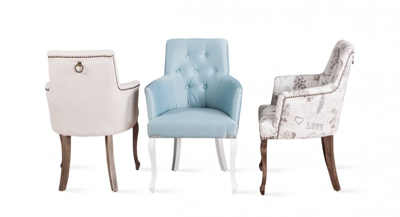 LUX upholstered armchair