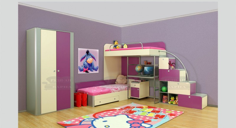Children's bedroom set DUWI