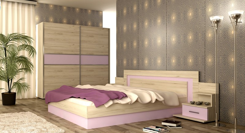 Bedroom set VERSAI