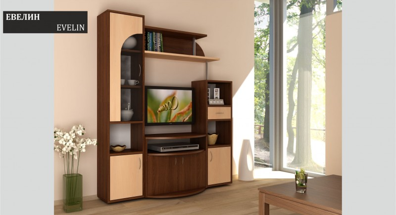 Wall unit EVELIN