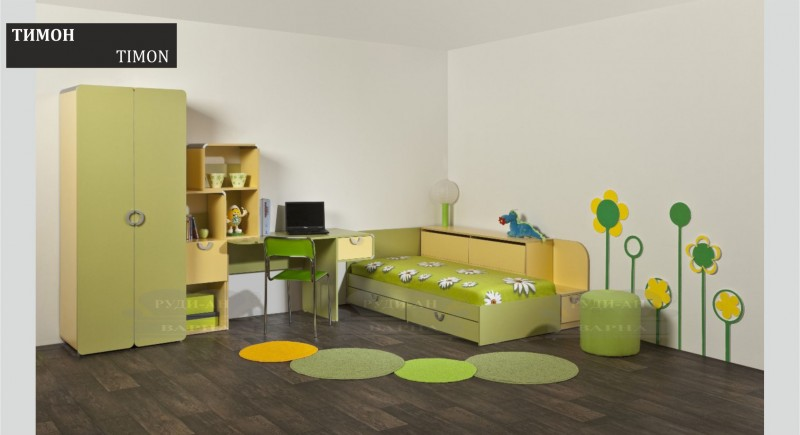 Children's bedroom set TIMON