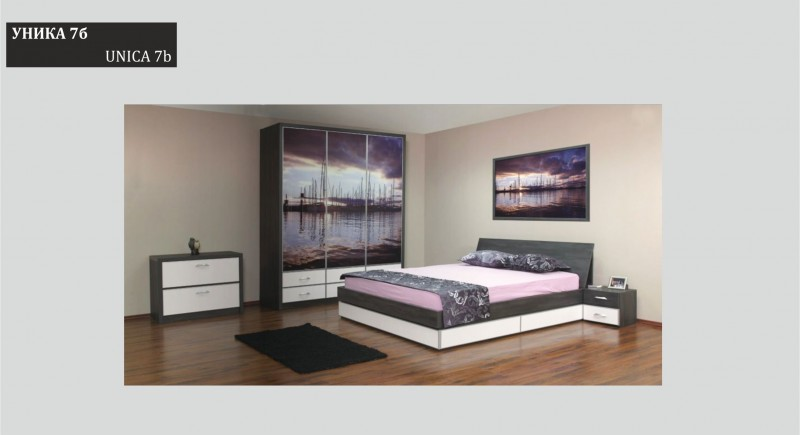 Bedroom set UNICA 7b