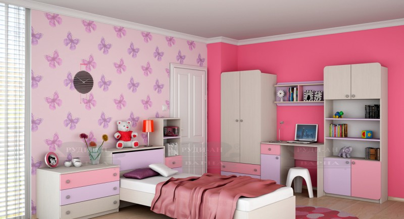 Modular children's bedroom system Silia-1
