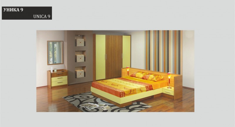 Bedroom set UNICA 9