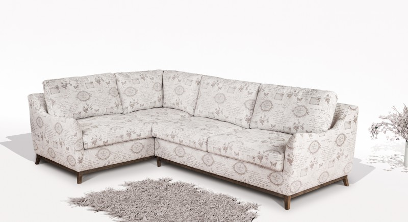 Corner sofa VIVA - Extendable