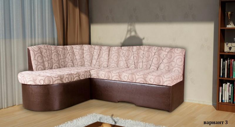 угловой диван АМ-АМ - округленный
