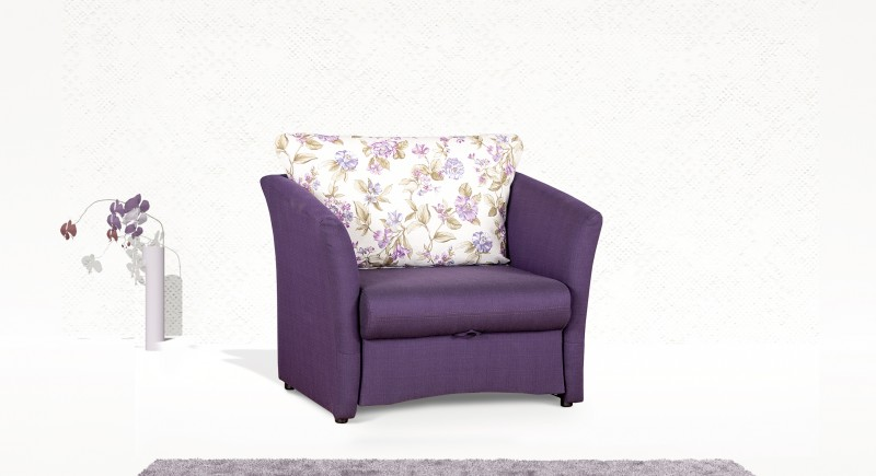 Extendable armchair LOTOS