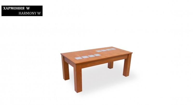 кофейный столик ГАРМОНИЯ-W
