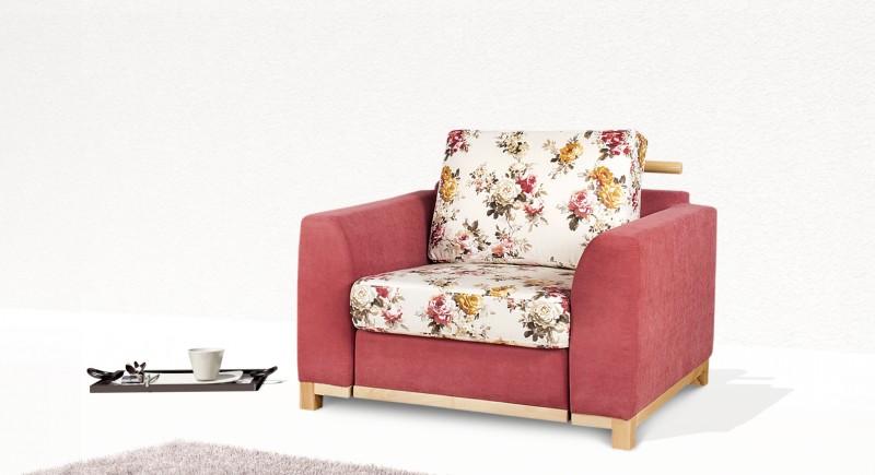 Extendable armchair SENATOR
