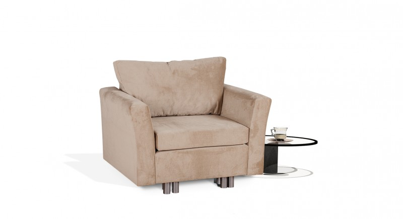 Extendable armchair SECUNDO