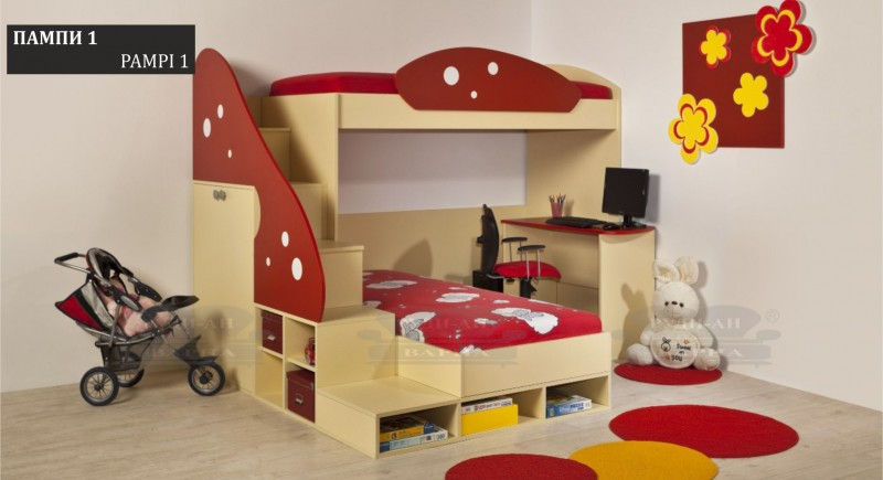 Children's bedroom set PAMPI-1