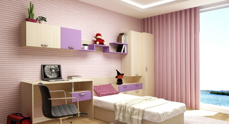 Children's bedroom set MARIO