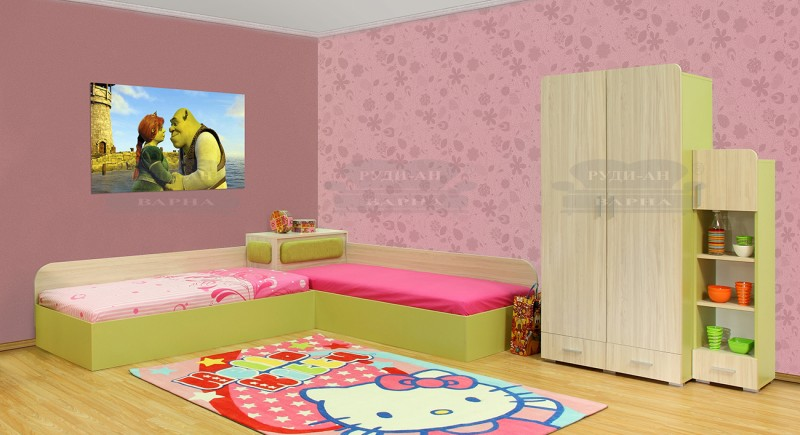 Children's bedroom set FINIUS