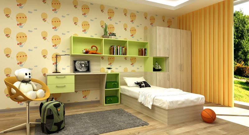 Children's bedroom set SUN