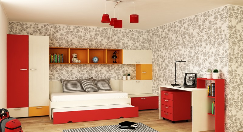 Children's bedroom set SONIK