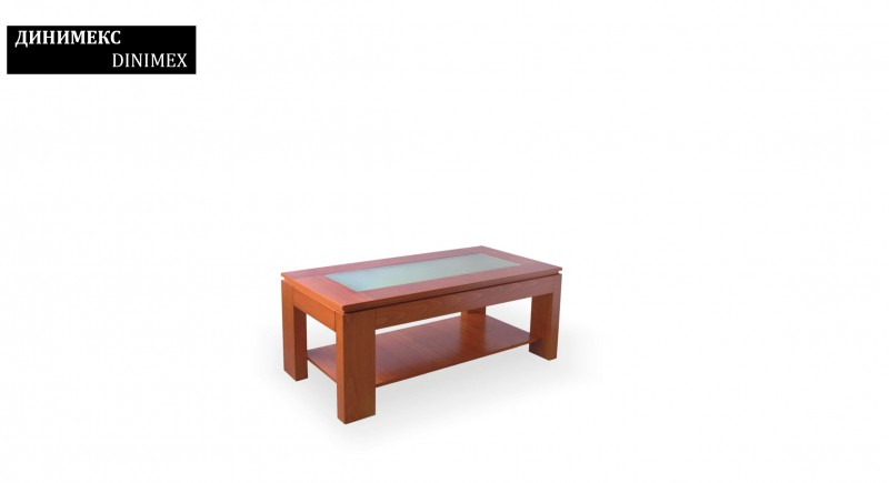 Tea and coffee table DINIMEX - glass