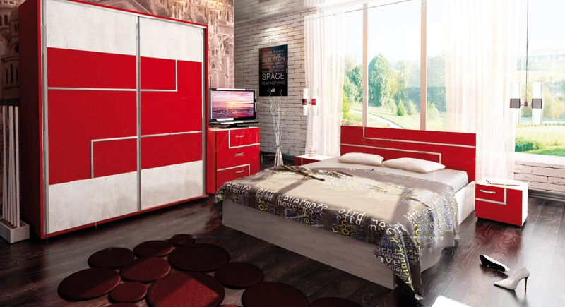 Bedroom set TORINO
