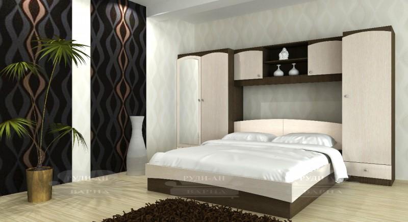 Modular bedroom system MELANIE-1